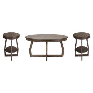 Hibbert 3 Piece Coffee Table Set Birch Lane?