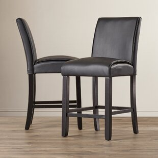Williamson 25.5 Bar Stool (Set of 2) Latitude Run