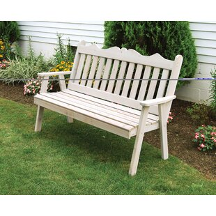 Nicholas English Wood Garden Bench