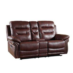 Winston Porter Ullery Upholstered Living Room Reclining Loveseat