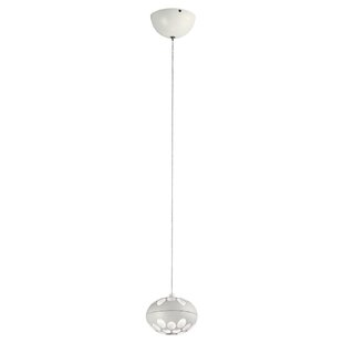 Altura 1-Light LED Globe Pendant by Orren Ellis