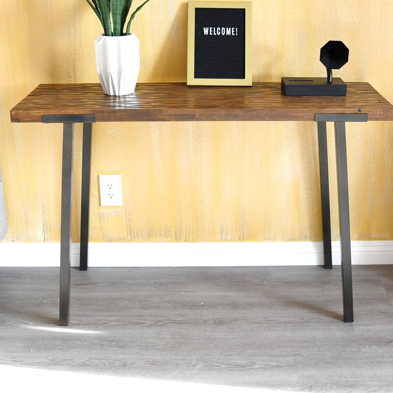 Union Rustic Piper 47 5 Console Table Reviews Wayfair