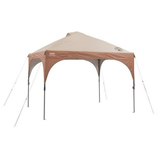 10 Ft. W x 10 Ft. D Steel Pop-Up Canopy by Coleman