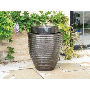 Grantville Ceramic Water Feature By Bloomsbury Market