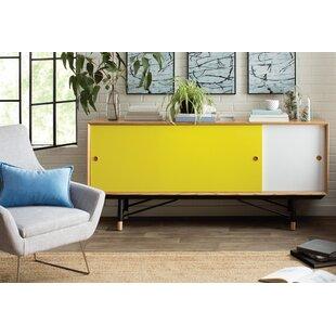 Mid-Century Modern Yellow Sideboards & Buffets You\'ll Love | Wayfair