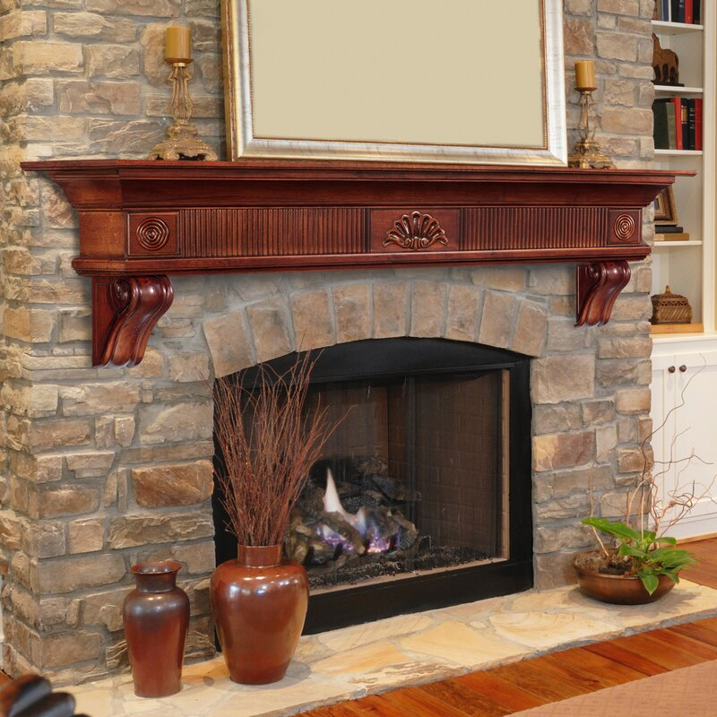 online retailer 51b58 e9612 The Devonshire Fireplace Shelf Mantel