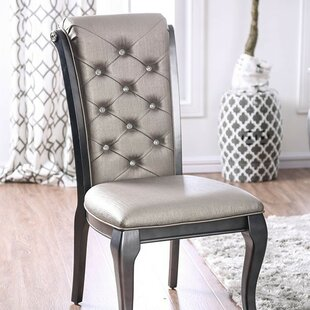 Keyon Upholstered Dining Chair (Set of 2) Rosdorf Park