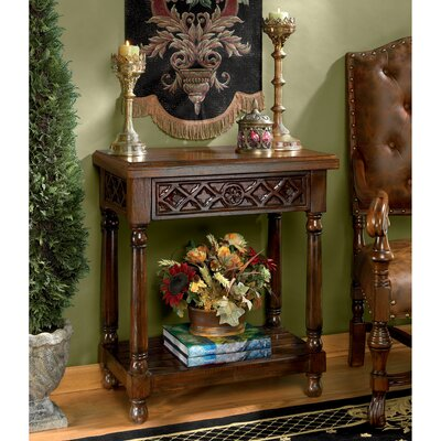 Calcot Manor Medieval Console Table Design Toscano