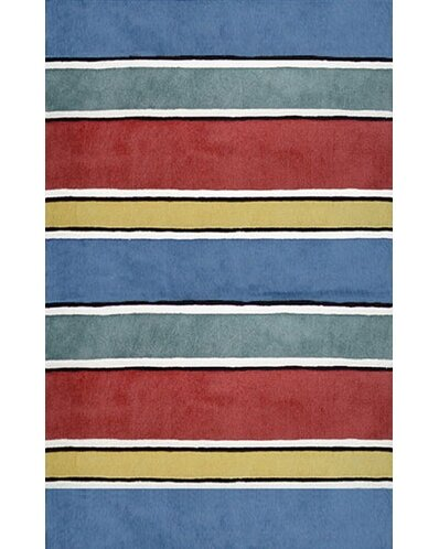 Gem Multi Stripes Ocean Rug from Wayfair!