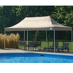 10 Ft. W x 20 Ft. D Steel Pop-Up Party Tent by ShelterLogic