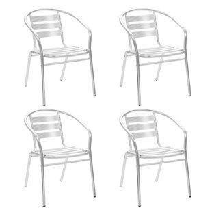 Mares Stackable Garden Chair (Set Of 4) By Brayden Studio