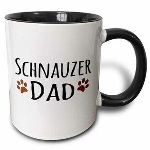 Schnauzer Dog Dad Coffee Mug