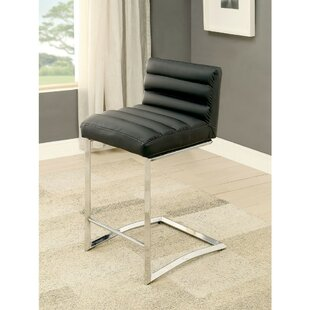 Becket Contemporary 26.5 Bar Stool (Set of 2)