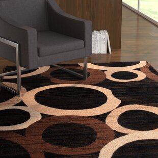 Great choice Ossher Black Area Rug ByEbern Designs