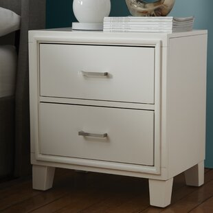 Redman 2 Drawer Nightstand