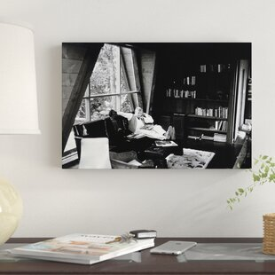 Robert Redford Sitting On A Couch Photographic Print Canvas