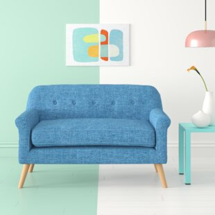 Calvillo Anchill Mid Century Modern Loveseat by Hashtag Home
