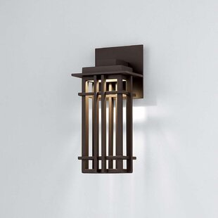 Winston Porter Laforest 1-Light LED Outdoor Sconce