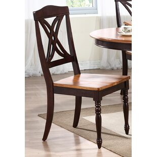 Butterfly Solid Wood Dining Chair (Set of 2)
