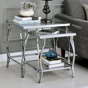 Terrill 2 Piece Nesting Tables by House of Hampton