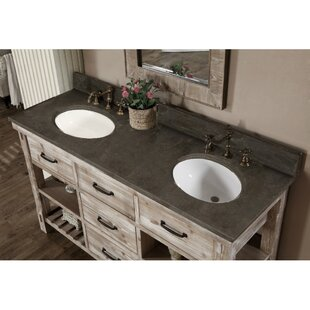 Clemmie 61 inch  Double Bathroom Vanity Set