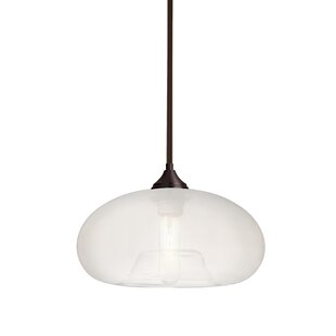 Sperry Stem 1-Light Globe Pendant by Brayden Studio