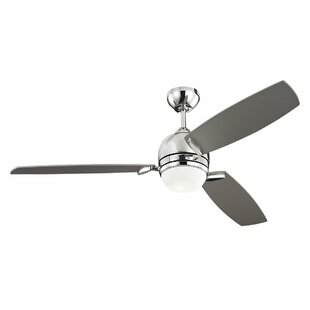 Affordable Price 52 Muirfield 3 Blade Ceiling Fan with Remote By Monte Carlo Fan Company