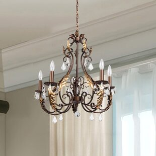 Greber 5-Light Candle Style Chandelier