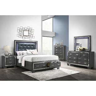 Anthea Platform 5 Piece Bedroom Set
