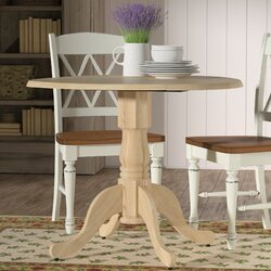 August Grove Toby Dining Table with Dual Drop Leaf & Reviews | Wayfair