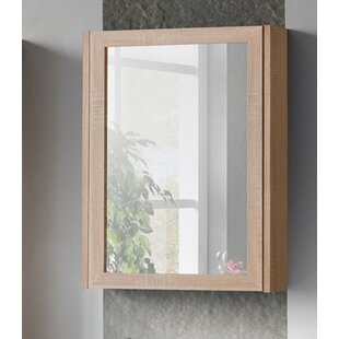 Piano 50 Cm X 66 Cm Surface Mount Mirror Cabinet By Belfry Bathroom