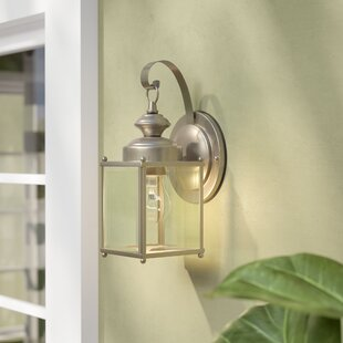 Burrows 1-Light Outdoor Wall Lantern by Darby Home Co