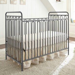 Lavern Metal 3-in-1 Convertible Crib