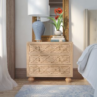 Parfondeval 3 Drawer Nightstand By Lark Manor