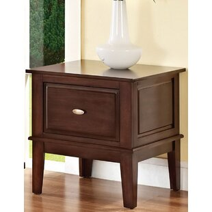 Andrew Home Studio Tobby End Table with Storage