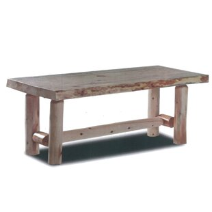 Loon Peak Pellston Log Coffee Table