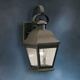 Best Price Larchmont 1-Light Outdoor Wall Lantern By Darby Home Co