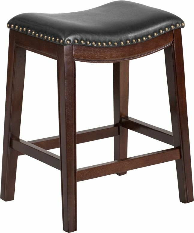 Charlton Home Jenkin 26 Backless Bar Stool Wayfair