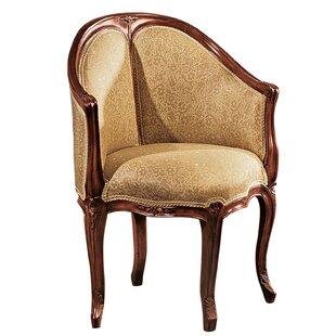 Design Toscano Louis XV Faultily DE Bureau Barrel Chair
