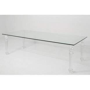 Lucite Beverly Hills Dining Table