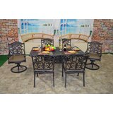 Nola 7 Piece Dining Set with Cushions