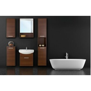 Helmore 54 Single Bathroom Vanity Set with Mirror and Cabinet by Ivy Bronx