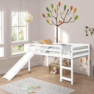 Find Allain Twin Low Loft Bed by Harriet Bee Reviews (2019) & Buyer's Guide