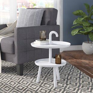 Chamorro Top Side Table by Wrought Studio