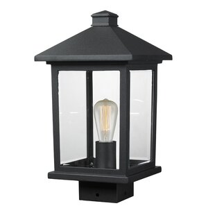Affordable Price Leroy 1-Light Beveled Glass Lantern Head By 17 Stories