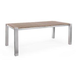 Autaugaville Aluminium Dining Table By Wade Logan