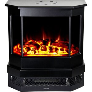 Cleveland Free Standing Electric Fireplace by Warm House