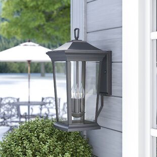 Christien 3-Light Outdoor Wall Lantern