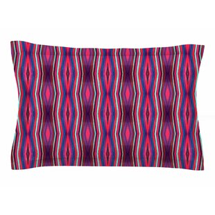 Miranda Mol 'Watercolor Zigzag' Sham