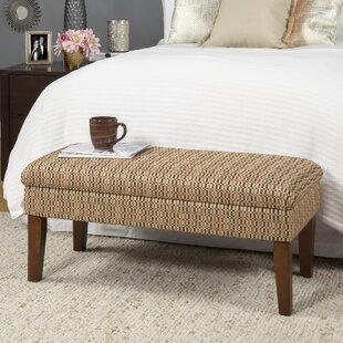 Schexnayder Decorative One Seat Bench with Storage by Winston Porter